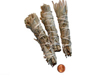 Set of 3 Small White Sage Bundles