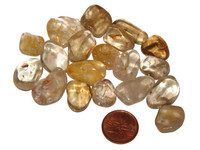 Tumbled natural Citrine - extra small