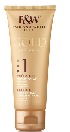 Fair & White Gold 2 Revitalizing Fade Cream 1.7oz Difiaba Professional Cream Haircolor Ultra Lift