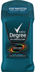 Degree Men Dry Deodorant, Cool Rush 2.7 oz