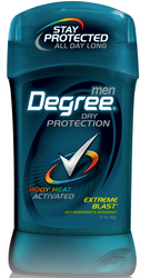 Degree Men Dry Protection Antiperspirant & Deodorant, Extreme Blast 2.7oz