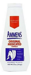Ammens Medicated Powder, Original Formula 11 oz