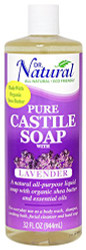 Dr. Natural Pure Castile Soap Lavender 32 oz