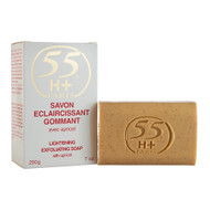 55H+ Paris Lightening Exfoliating Soap with Apricot 7 Oz / 200g