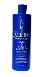 Rubee Hand & Body Lotion - 16 Fl.oz