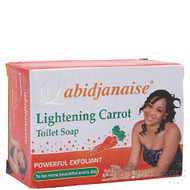 L'abidjanaise Lightening Carrot Toilet Soap 225g