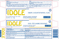 Idole Natural Organic Skin Lightening Gel 1 oz