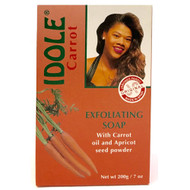 IDOLE Carrot Exfoliating Soap With Carrot Oil & Apricot Seed Powder 125g