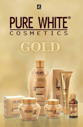 Pure White 4 Gold Glowing Dark Spot Corrector Serum 50 ml