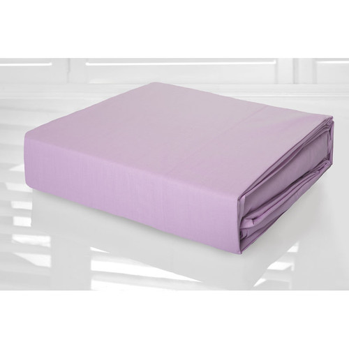 Lilac Sheet Set 225TC Easy Care Percale | King Single Bed