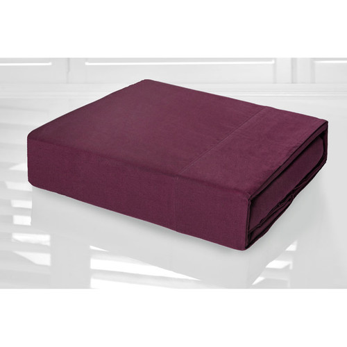 Shiraz Sheet Set 225TC Easy Care Percale | Single Bed