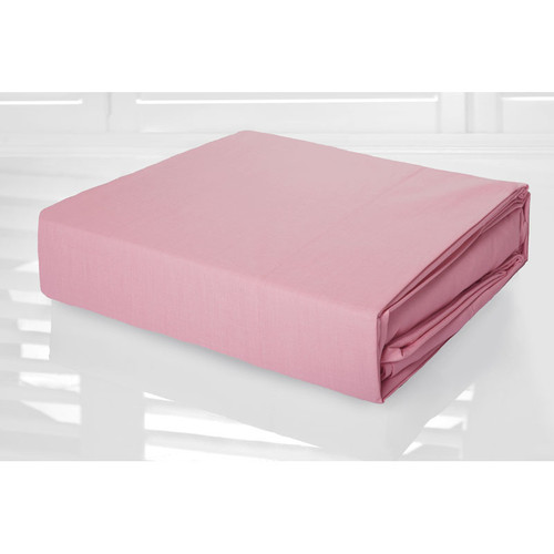 Pink Sheet Set 225TC Easy Care Percale | Double Bed