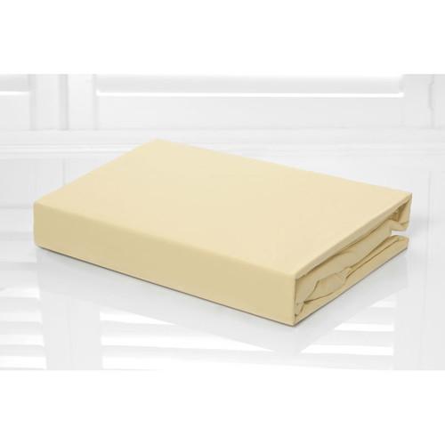 100% Cotton Fitted Sheet & Pillowcase Combo 250TC Bone Pebble | King Single Bed