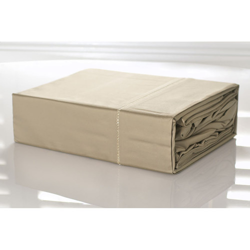 100% Egyptian Cotton Sheet Set 1100TC Linen Doeskin   Queen Bed
