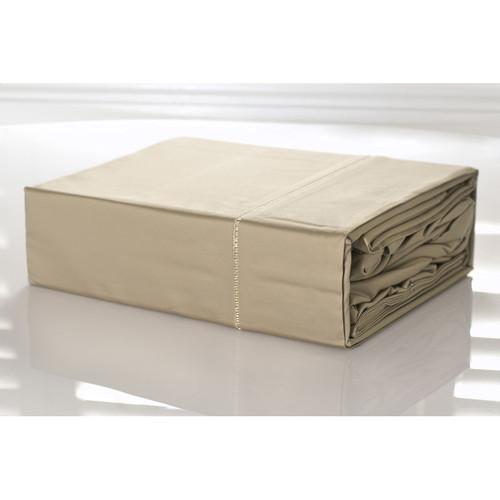 100% Egyptian Cotton Sheet Set 1100TC Linen Doeskin | King Bed