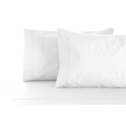 100% Cotton Sheet Set 1000TC White | Queen Bed
