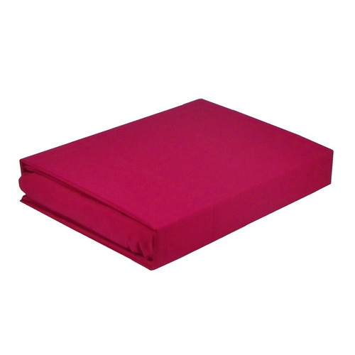 Paris Hot Pink Sheet Set 225TC Easy Care Percale | King Single Bed