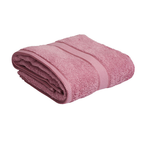 100% Cotton Rose Pink Towels | Bath Towel