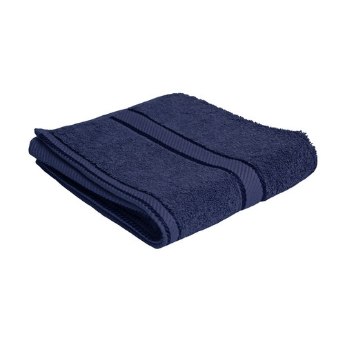 100% Cotton Navy Blue Towels | Hand Towel