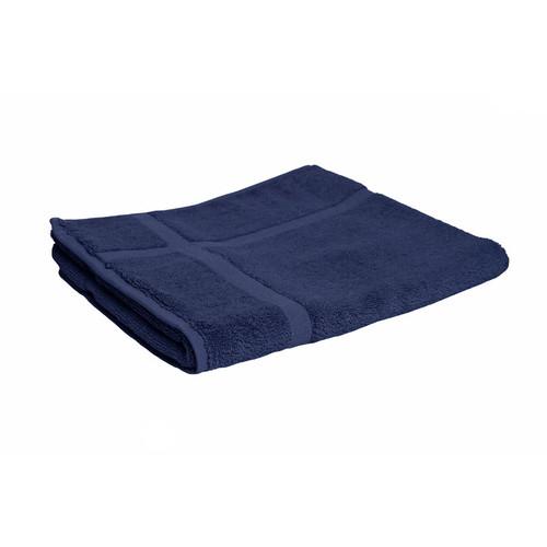 100% Cotton Navy Blue Towels | Bath Mat