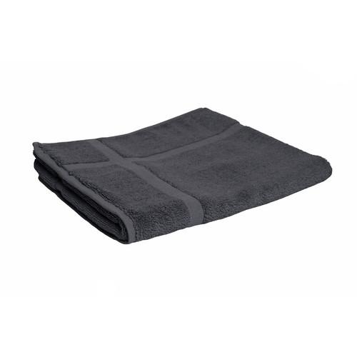 100% Cotton Charcoal Grey Towels | Bath Mat