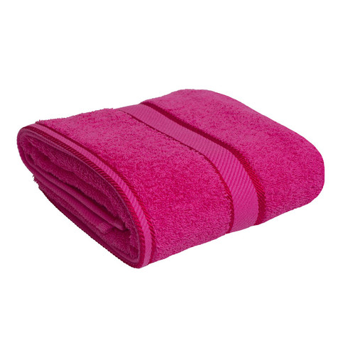 100% Cotton Fuchsia / Hot Pink Towels | Bath Towel