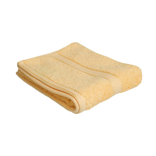 100% Cotton Yellow Towels | Hand Towel
