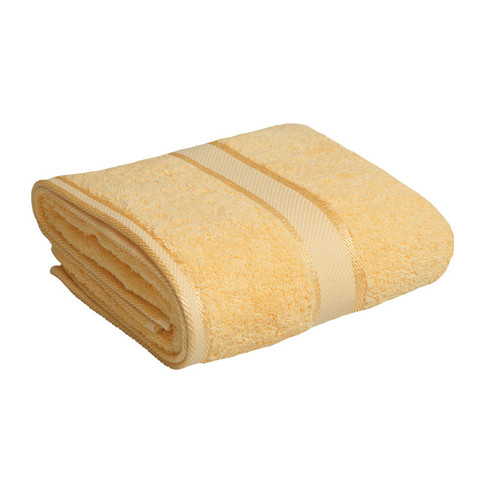 100% Cotton Yellow Towels | Bath Towel