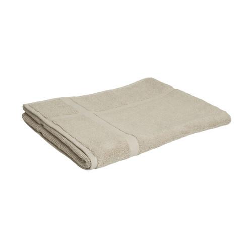 100% Cotton Linen / Latte Coffee Towels | Bath Mat