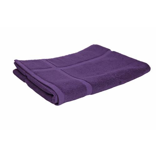 100% Cotton Purple Towels | Bath Mat