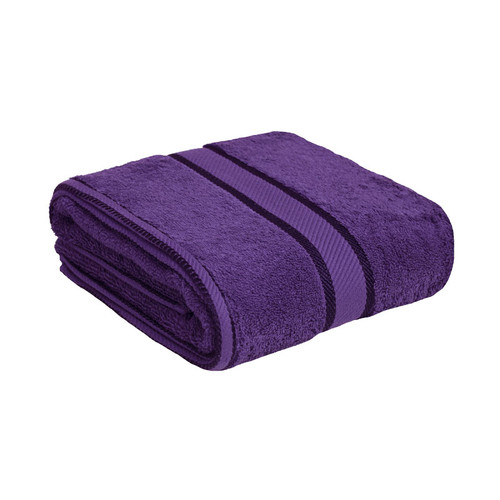 100% Cotton Purple Towels | Bath Towel