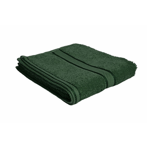 100% Cotton Forest Green Towels | Hand Towel