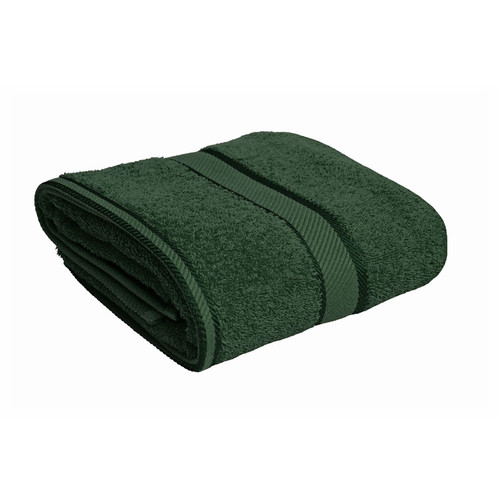 100% Cotton Forest Green Towels | Bath Towel