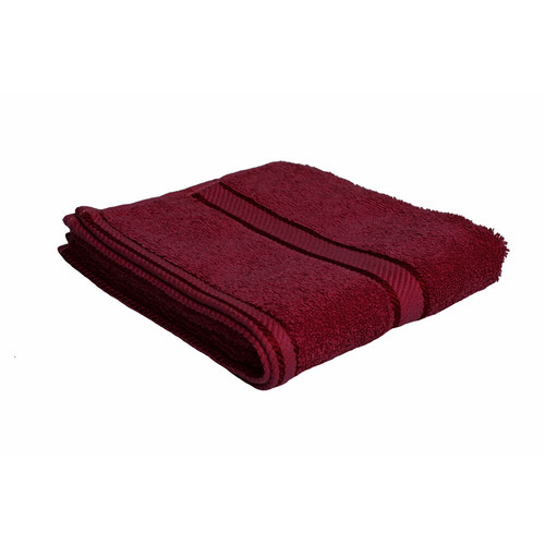 100% Cotton Burgundy Towels | Hand Towel