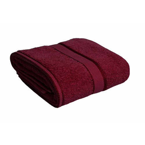 100% Cotton Burgundy Towels | Bath Towel