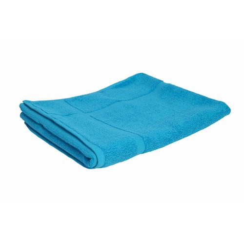 100% Cotton Bright Aqua Towels | Bath Mat
