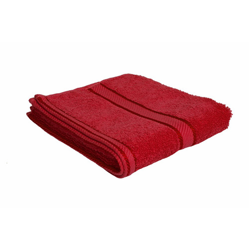 100% Cotton Red Towels | Hand Towel