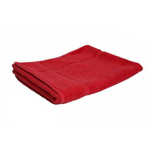 100% Cotton Red Towels | Bath Mat