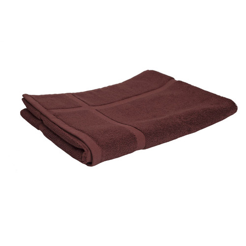 100% Cotton Chocolate Brown Towels | Bath Mat