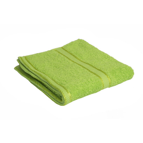 100% Cotton Bright Lime Green Towels | Hand Towel