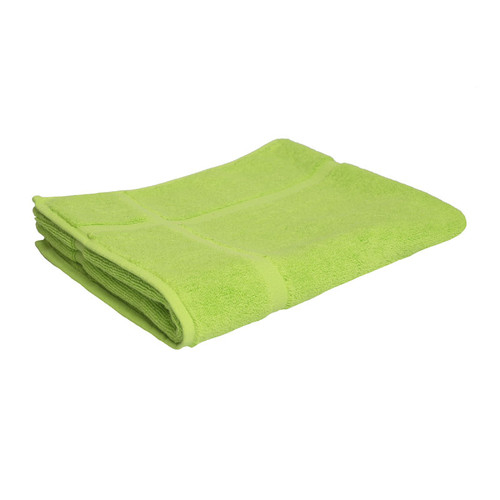 100% Cotton Bright Lime Green Towels | Bath Mat