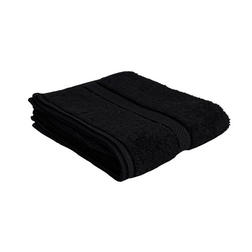 100% Cotton Black Towels | Hand Towel