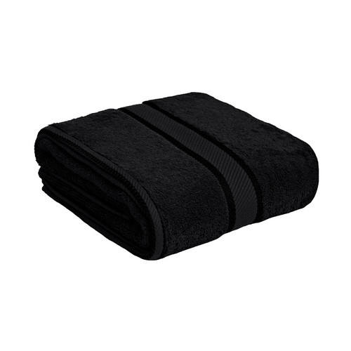 100% Cotton Black Towels | Bath Towel