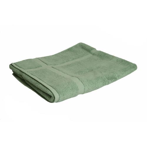 100% Cotton Frost Green Towels | Bath Mat