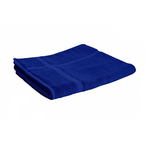 100% Cotton Royal Blue Towels | Bath Mat