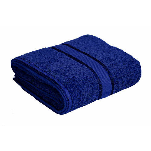 100% Cotton Royal Blue Towels | Bath Towel