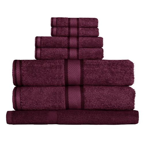 100% Cotton Shiraz Towels | 7pc Bath Towel Set