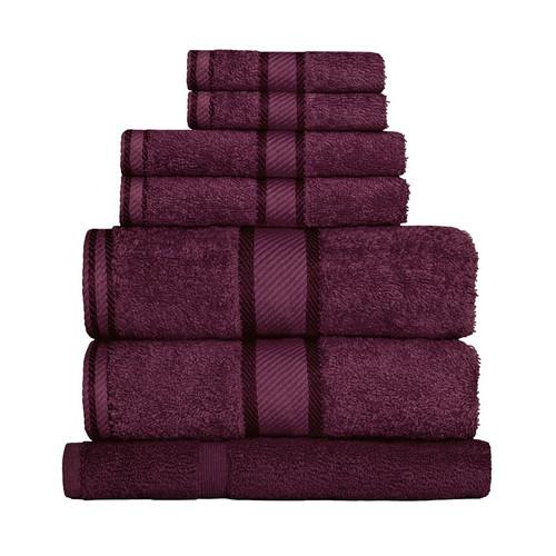 100% Cotton Shiraz Towels | 7pc Bath Sheet Set