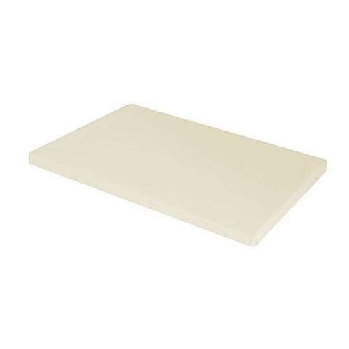 Cream Plain Standard Pillowcase
