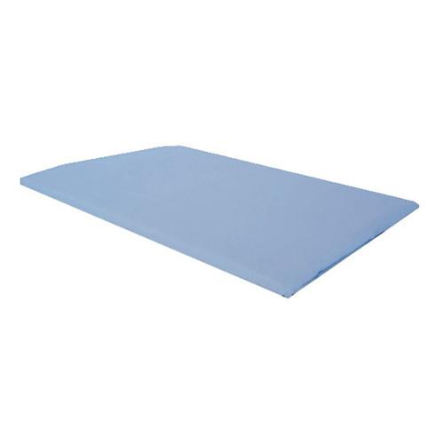Blue Plain Standard Pillowcase